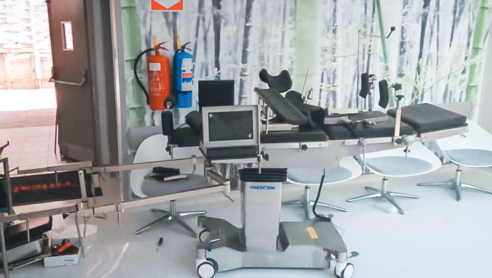 Medik Exported Electric Operating Table To Tanzania Market