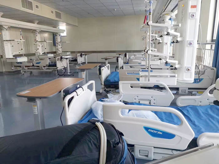 MEDIK Offer ICU Furniture For ZiGong First People's hospital