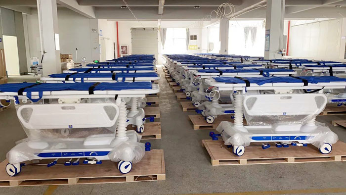 285 Unit Patient Transfer Trolley To Philippines Market