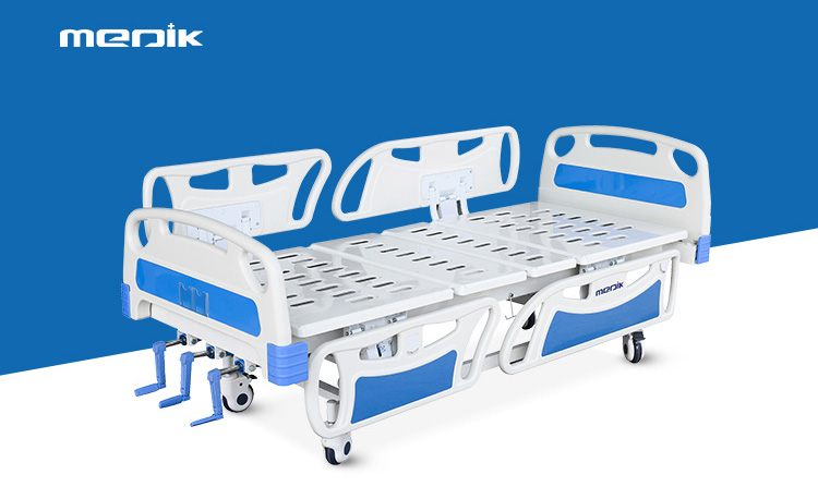 What is a 3 crank hospital bed?
