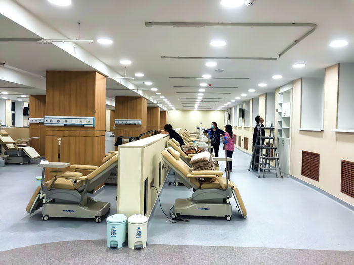 The Mongolian Dialysis Hospital has been completed!