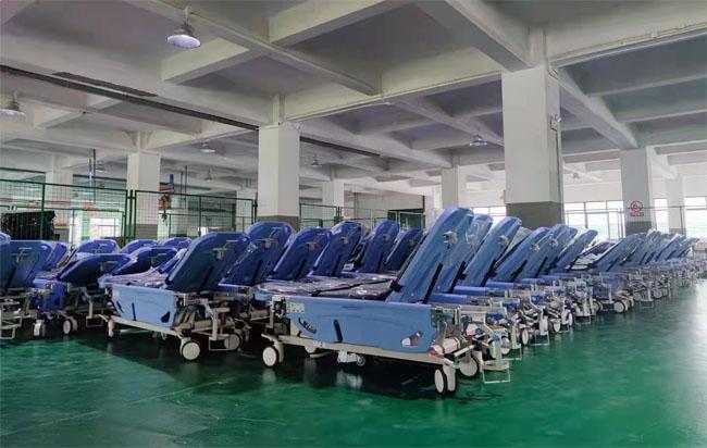 Patient stretchers for Korean hospitals