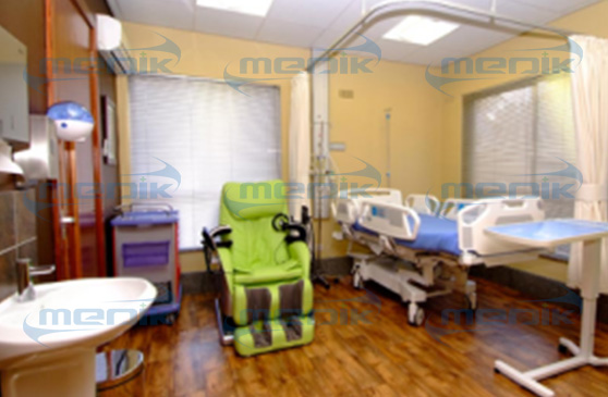 Installed Hospital Chair Beds in St. Paul's Hospital