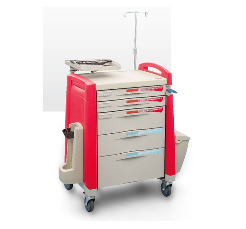 Model YA-TRA01 Emergency Crash Cart