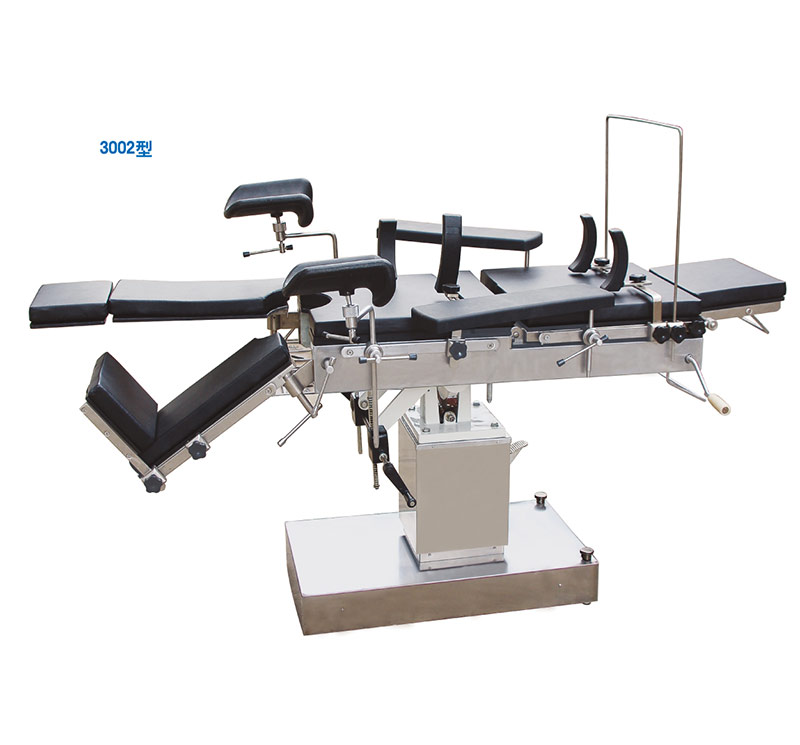 Side-Controlled Hydraulic Operation Table X-ray Function For Operating Room