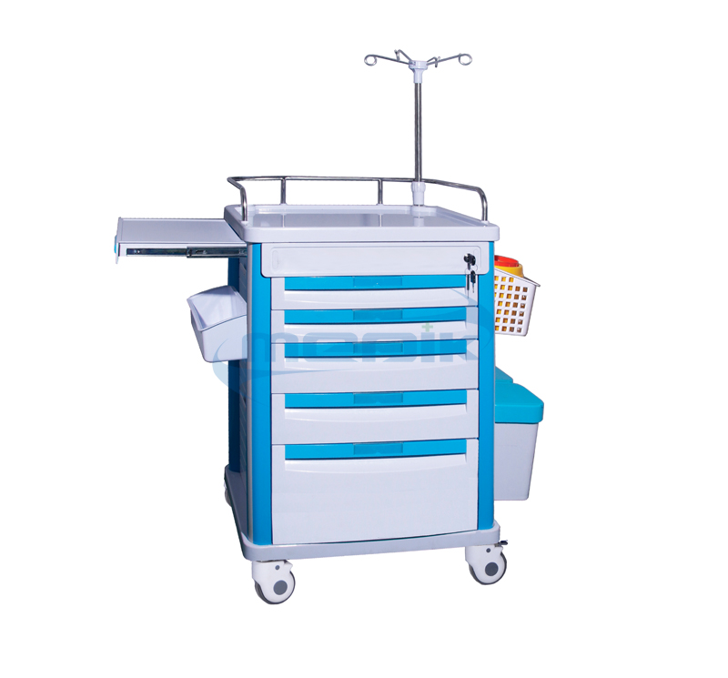 Model YA-ET63072B Medical Critical Care Carts