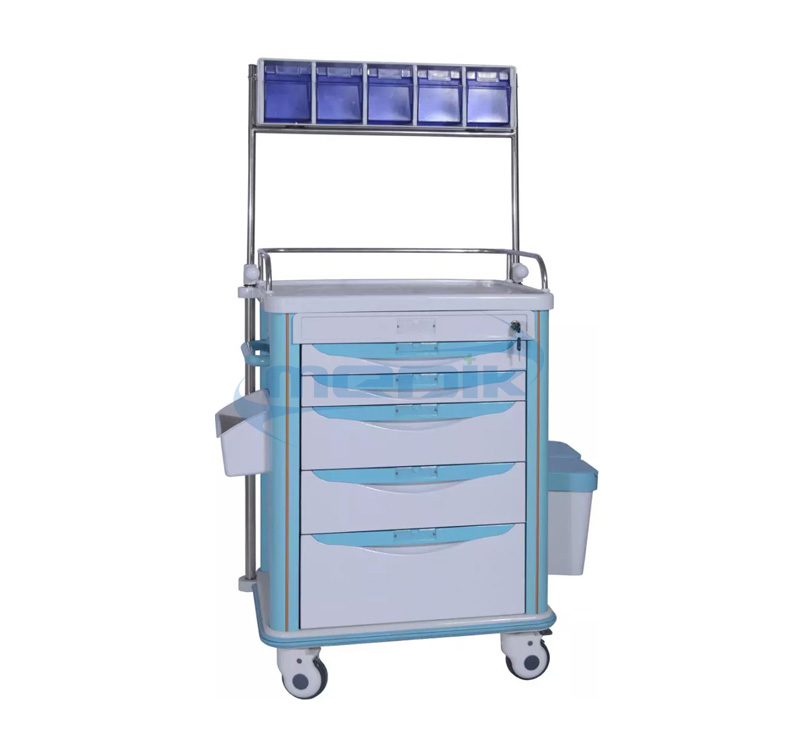 Model YA-NT62512B Hospital Anesthesia Cart