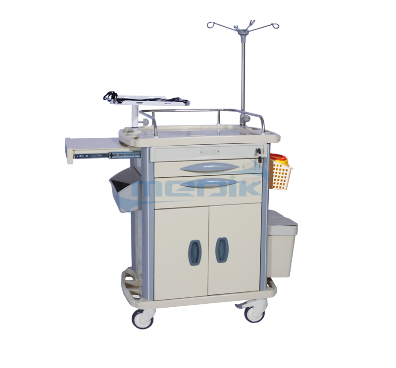 Model YA-ET72031B Medical Resuscitation Trolley