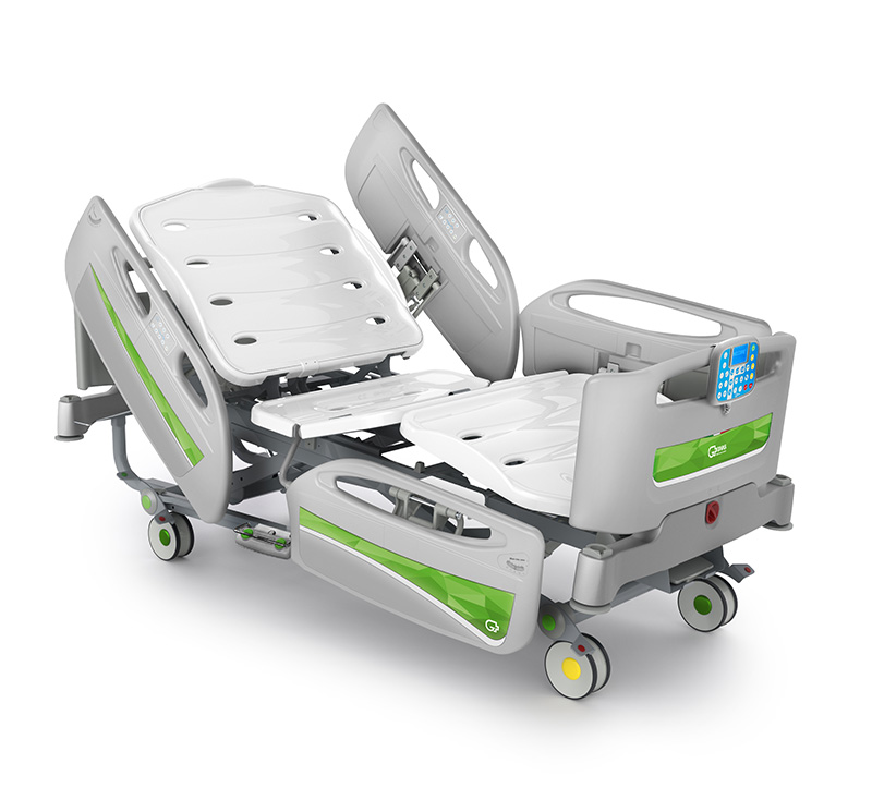 Multi functions electric ICU bed with full options