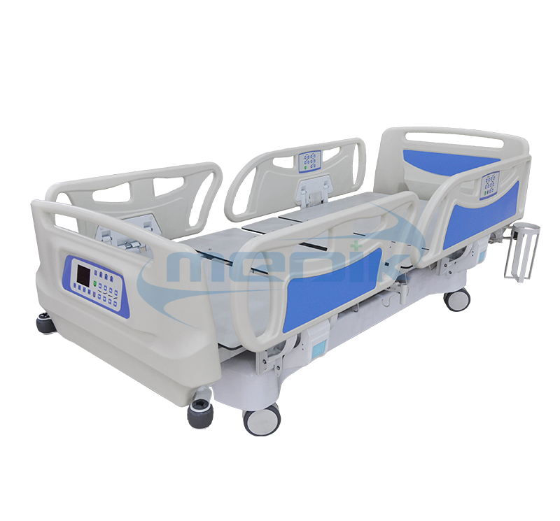 X-Ray Translucent Electric Hospital Bed With Embedded Control And Weighing Scale