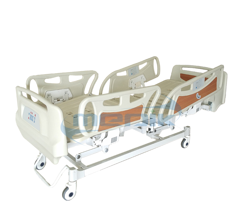 Economic Five Function Electric Bed With Railing Control And Nurse Control