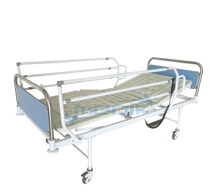 Two function simple electric hospital bed