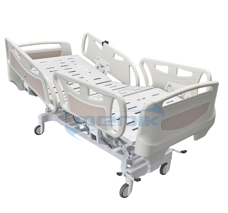 functions electric hospital bed with ABS sleeping platform