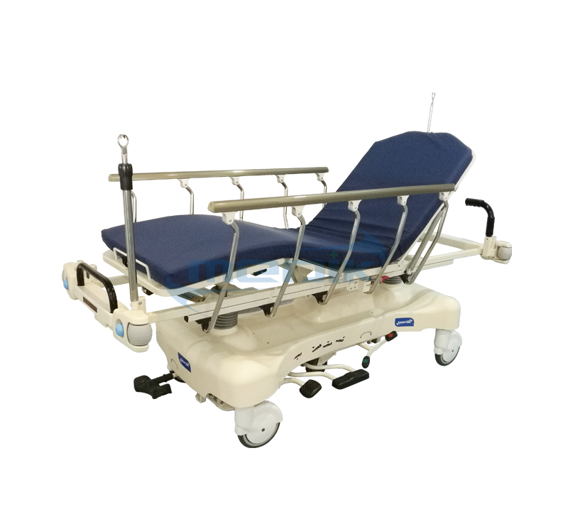 YA-TH5CSXN Emergency Hydraulic Patient Stretcher With X-ray Platform And Acutant Pump