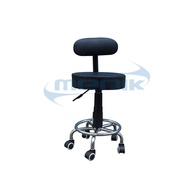 YA-S08 Medical Nurse Chair Doctor Stool With Backrest