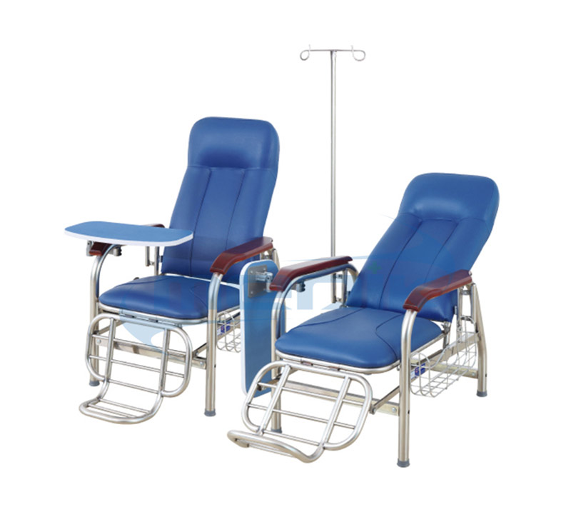 YA-SY01A Stainless Steel Transfusion Chair