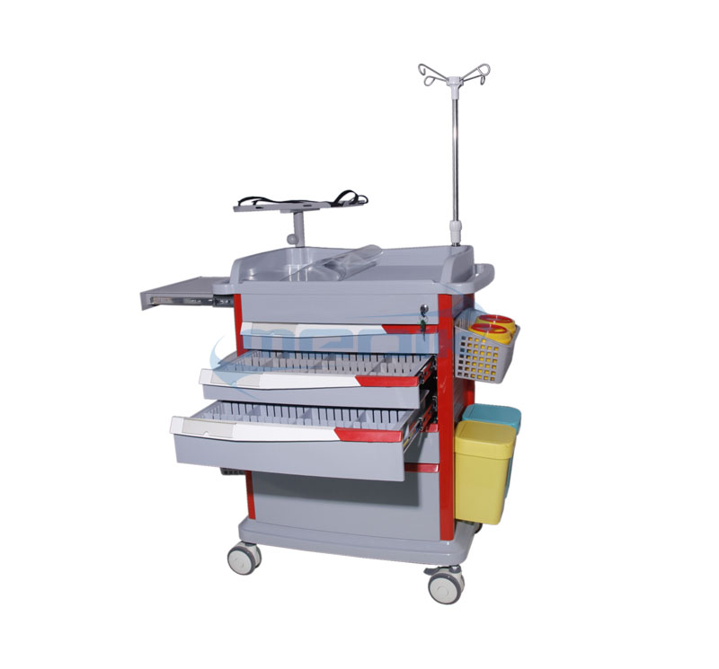 YA-ET85037B Medical Emergency Crash Cart