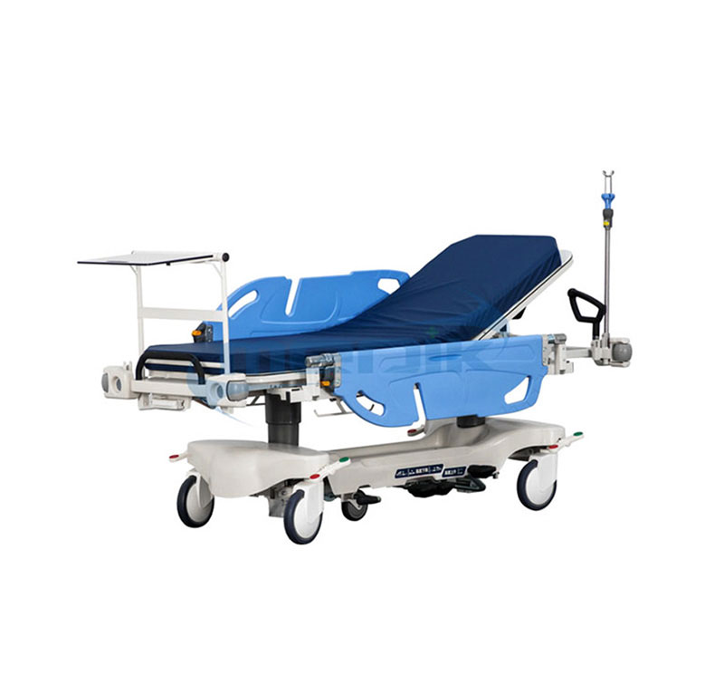 YA-111F Hydraulic Patient Transport Stretcher Rotating Side Rails For Operation Room