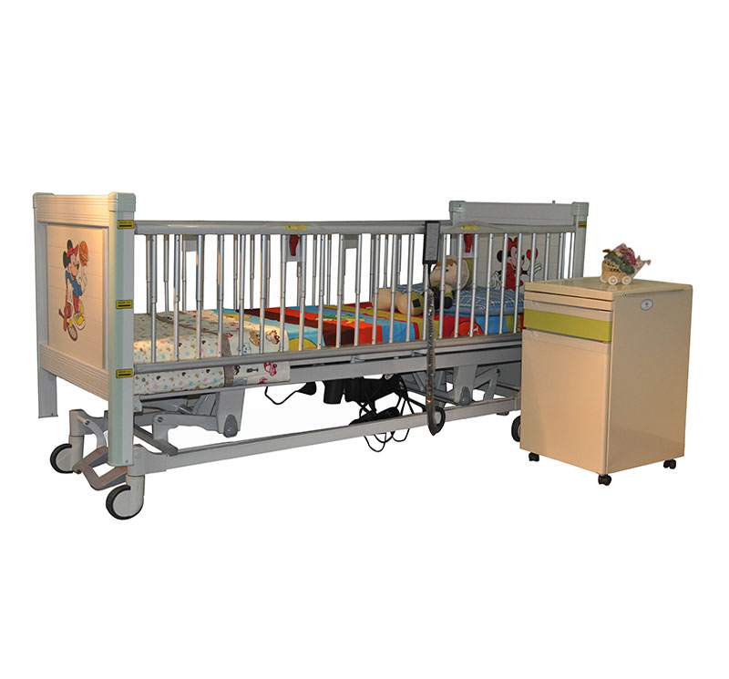YA-PD5-2 Electric Pediatric Bed With Double Lock Switch
