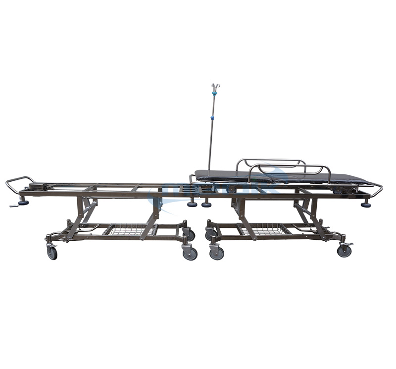 YA-CS02 Patient Stretcher With Central Brake System