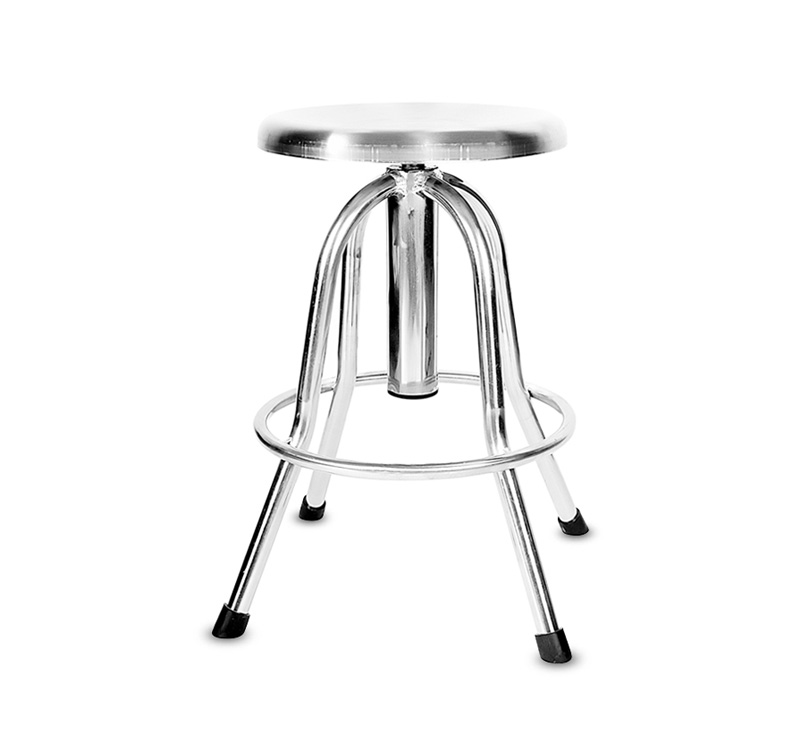 YA-S09 Medical Hospital Stainless Steel Nurse Stool