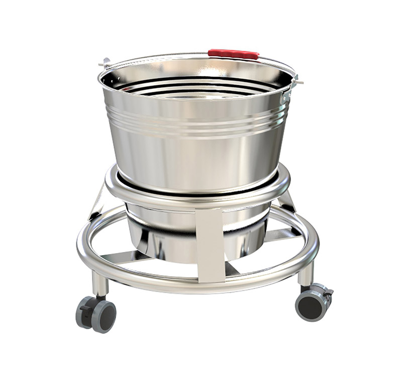 YA-KB01 Stainless Steel Medical Kick Bucket For Hospital