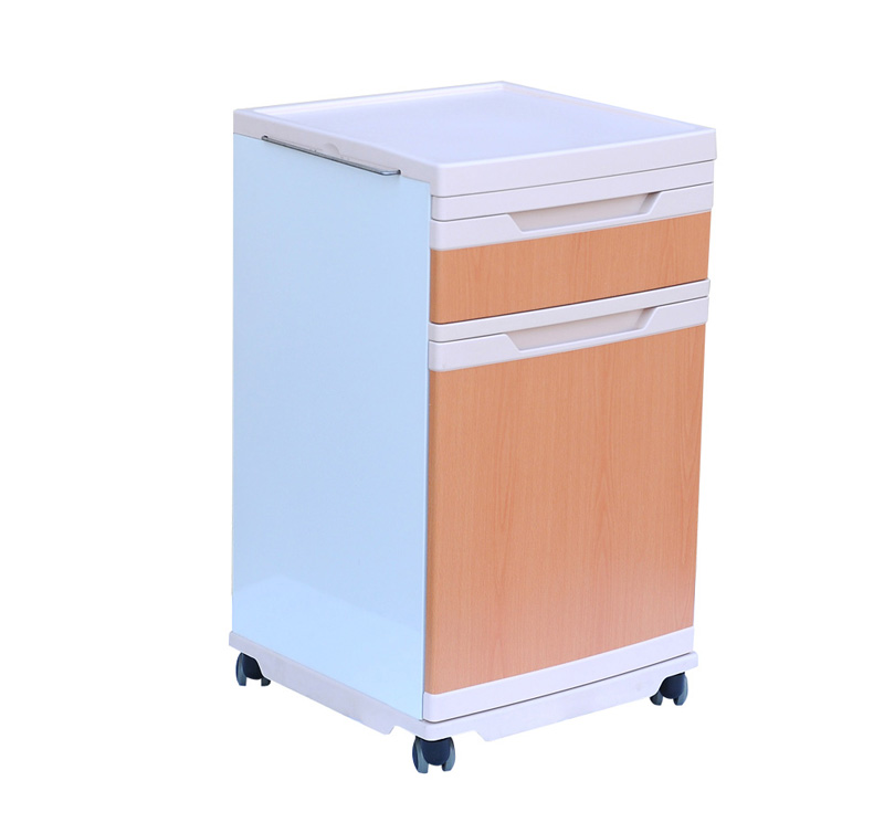 YA-B11 Medical Bedside Locker With Dining Board