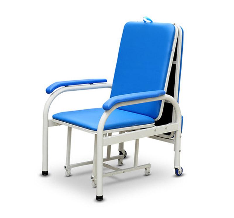 MK-A07 Hospital Medical Folding Sleeping Accompany Chair