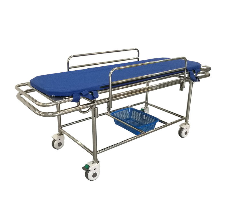 YA-PS09 Stainless Steel Patient Transfer Stretcher