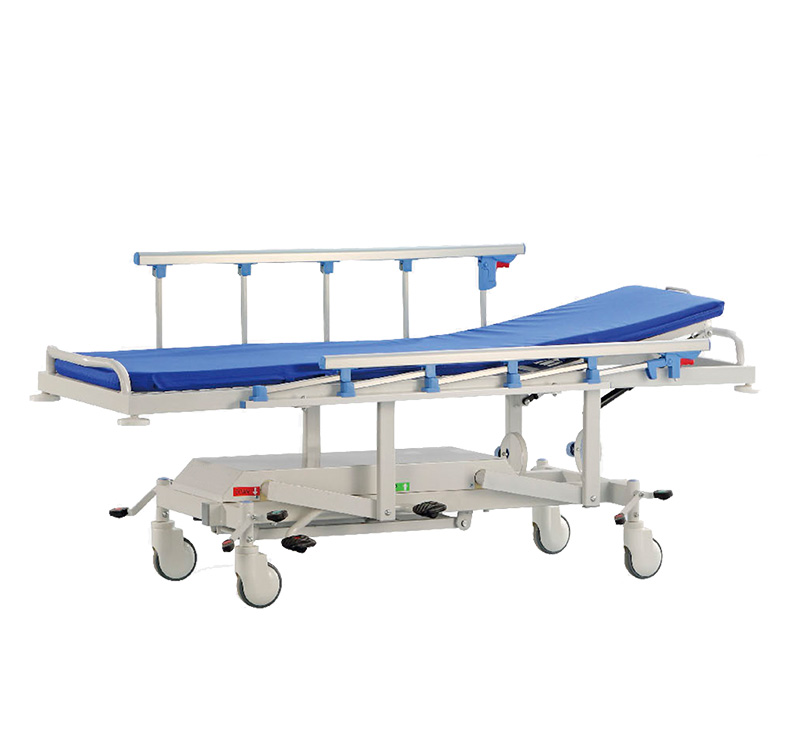 YA-PS06 Hydraulic Patient Transfer Stretcher With Height Adjustable Function