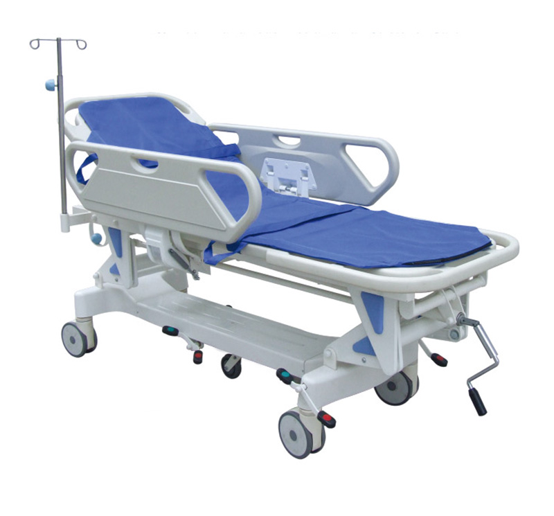 YA-PS05 Patient Transportation Stretcher With Central Brake System