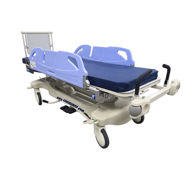 YA-PS03 Patient Transportation Stretcher With Rotating Side Rails