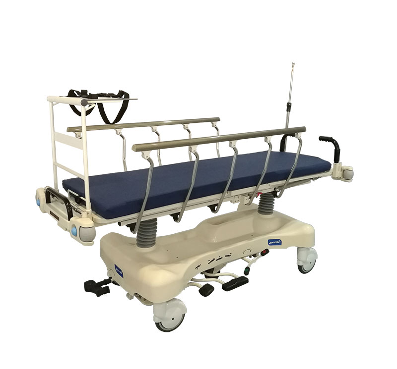 YA-PS02 Hydraulic Hospital Patient Trolley With X-ray Platform