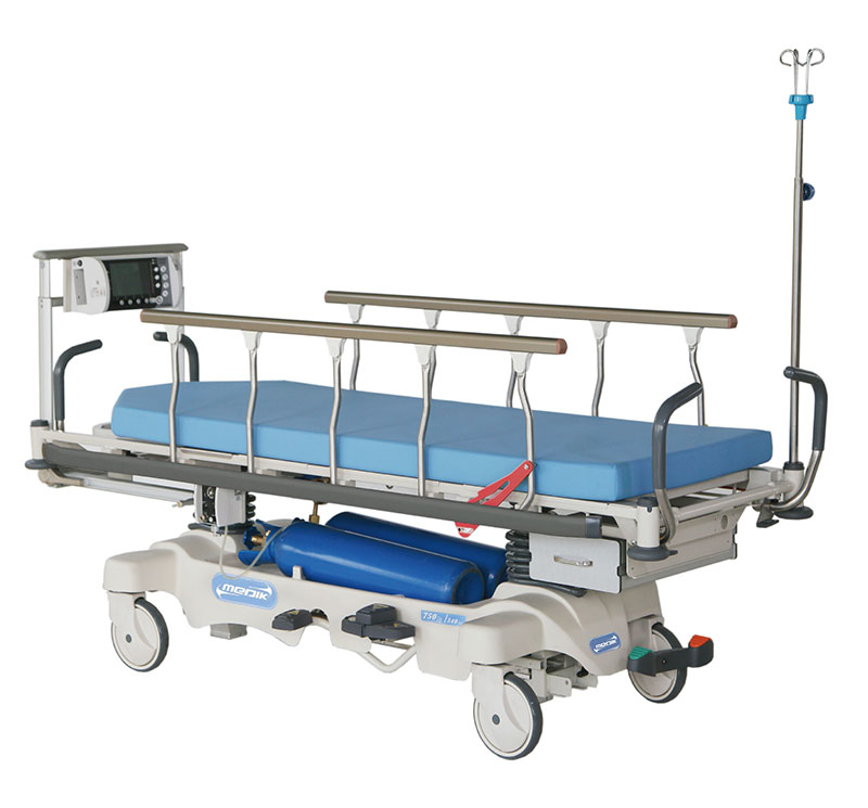 YA-PS01 Luxurious Hydaulic Patient Stretcher Trolley