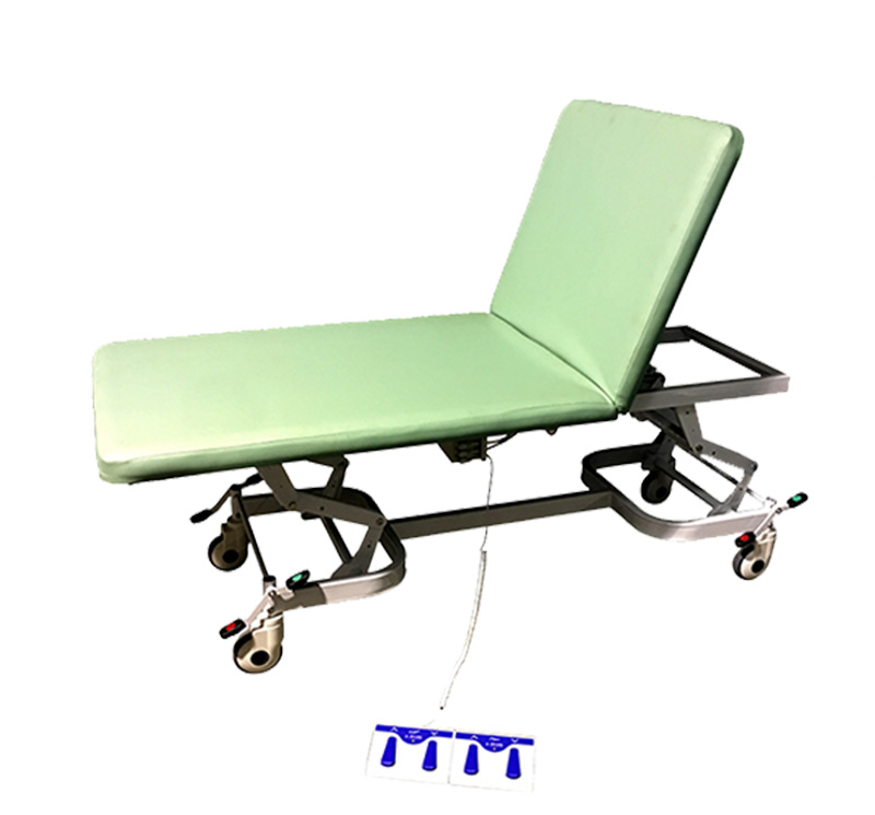 YA-EC-D02 Medical Examination Table With Back Adjustment Function