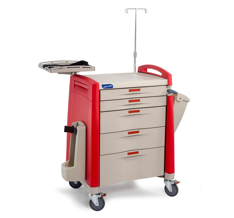 MK-P01 Medical Emergency Crash Cart