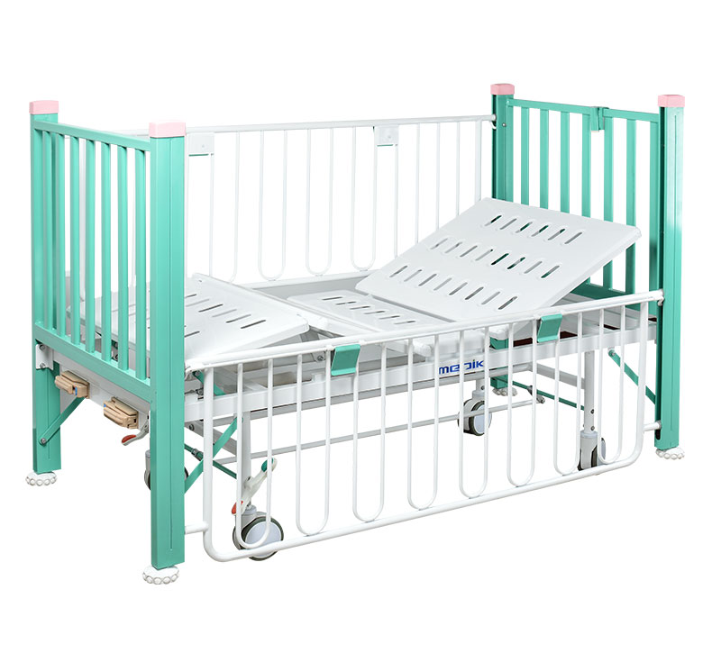 YA-PM2-4 Two Crank Medical Pediatric Bed For Kids