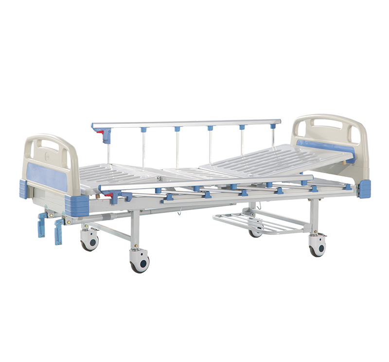 YA-M2-3 Two Function Manual Clinic Bed