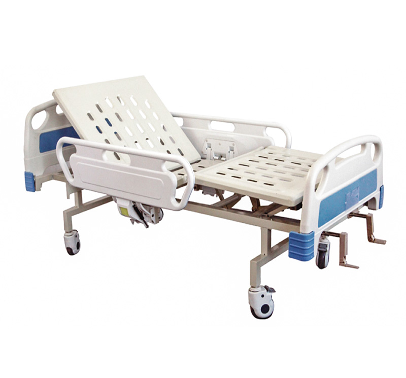 YA-M2-4 Two Crank Manual Patient Bed