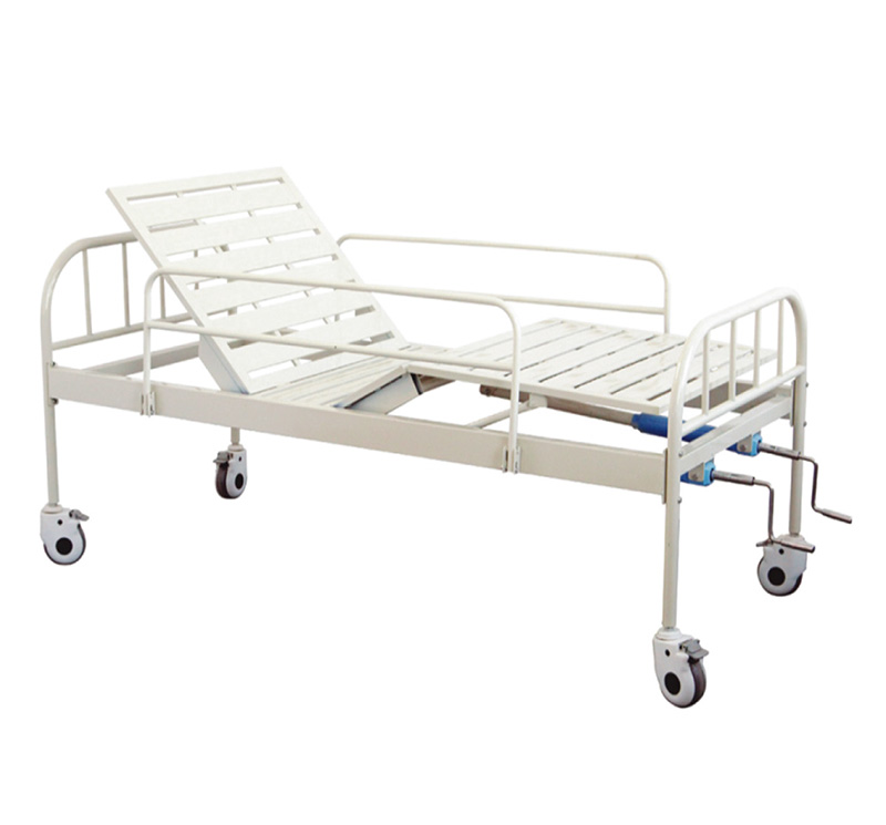 YA-M2-5 Manual Clinical Hospital Bed 2 cranks