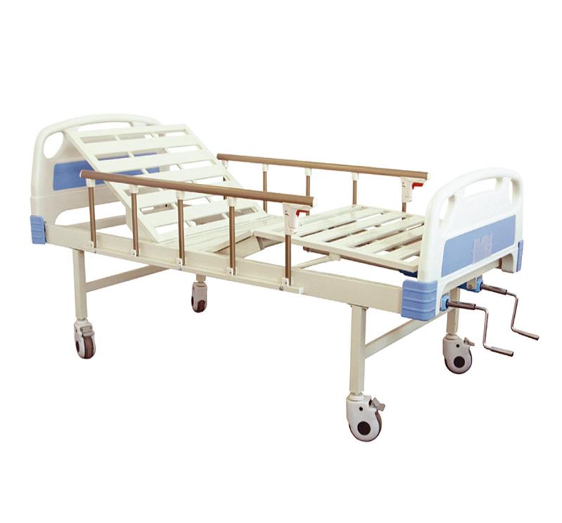 YA-M2-6 Manual Medical Adjustable Bed Two Crank