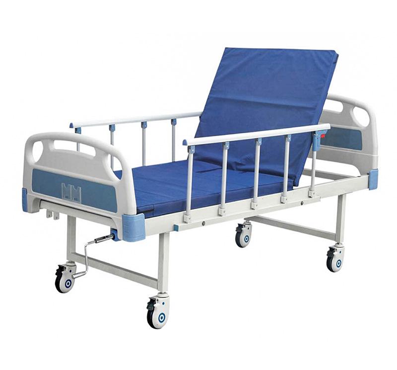 YA-M1-1 Single Crank Basic Hospital Bed
