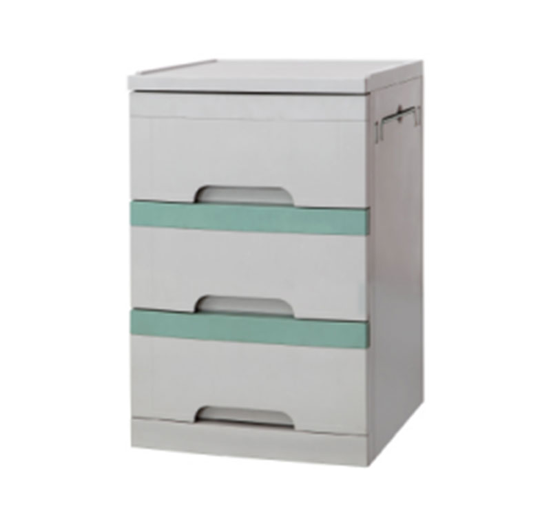 YA-B05 ABS Medical Bedside Cabinet