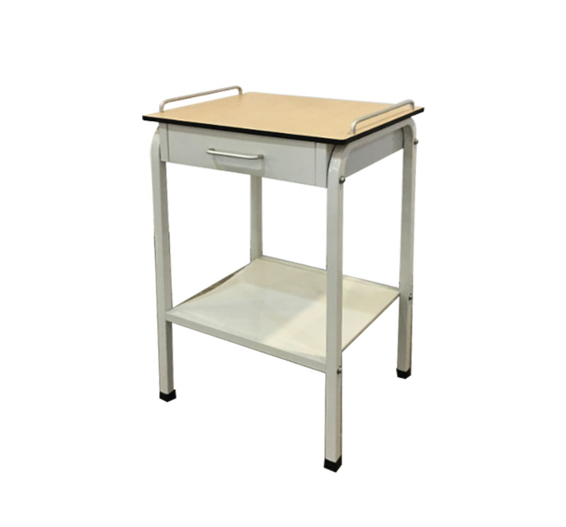 YA-B09 Hospital Bedside Table With Drawer