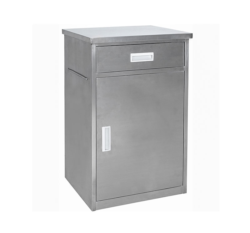 YA-B10 Stainless Steel Hospital Bedside Locker