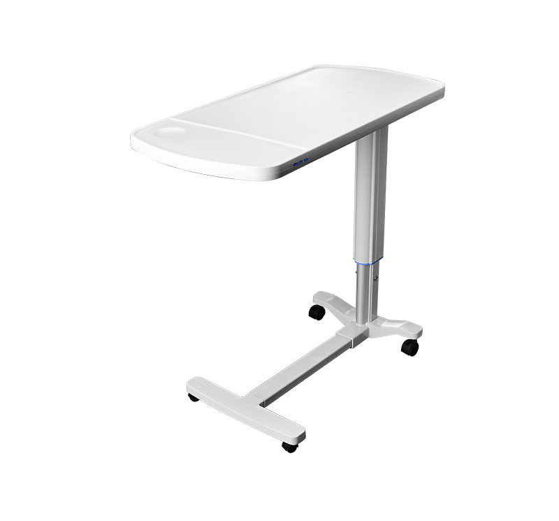 YA-T02 ABS Hospital Bed Table Height Adjustable