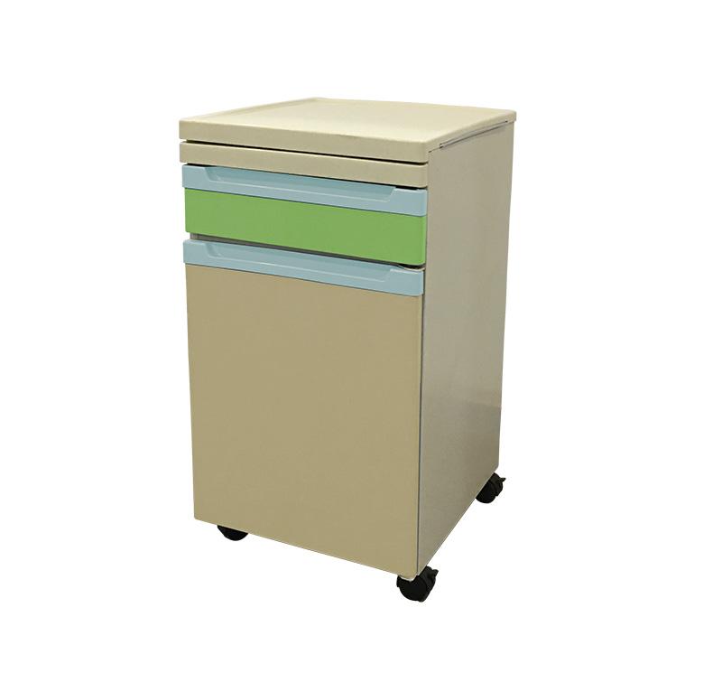 YA-B03 Medical Bedside Locker With Dining Board