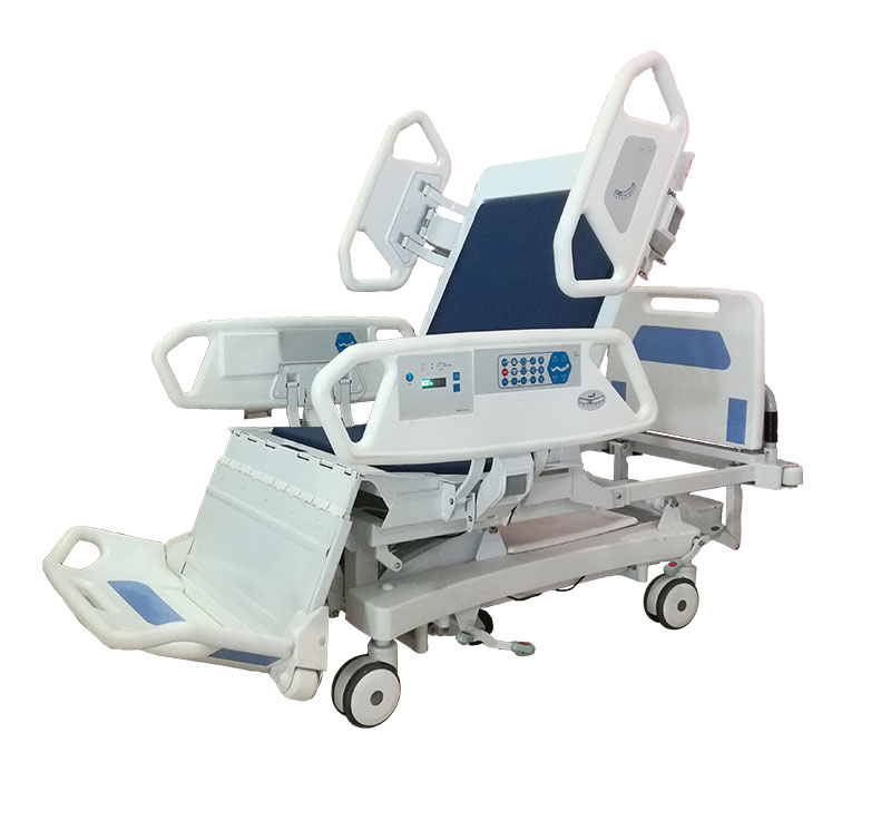 YA-D8-1 Total Chair Position Electric Hospital ICU Bed