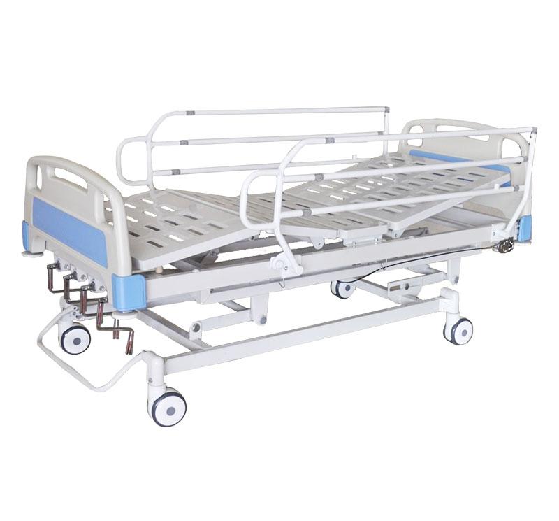 YA-M5-4 Manual 4 Cranks Hospital Bed