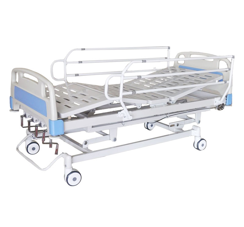 YA-M5-4 Manual 4 Cranks Hospital Bed